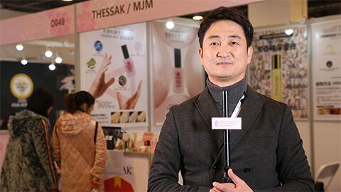 2019 Korea Exhibior – THESSAK – Showcases new products - nail repair oil with perfume