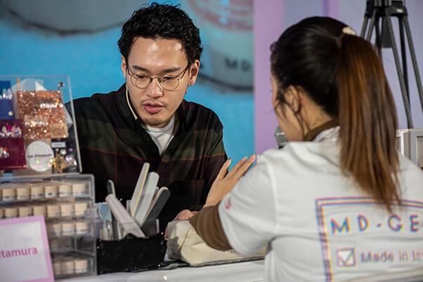 China International Nail Expo, Beijing – Nail Art Demonstration – Ryo Kitamura, Japan