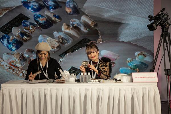 China International Nail Expo, Beijing – Nail Art Demonstration – Ono Erina, Japan